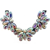 Crystal Motifs Necklace Fancy Crystal Aurora Borealis